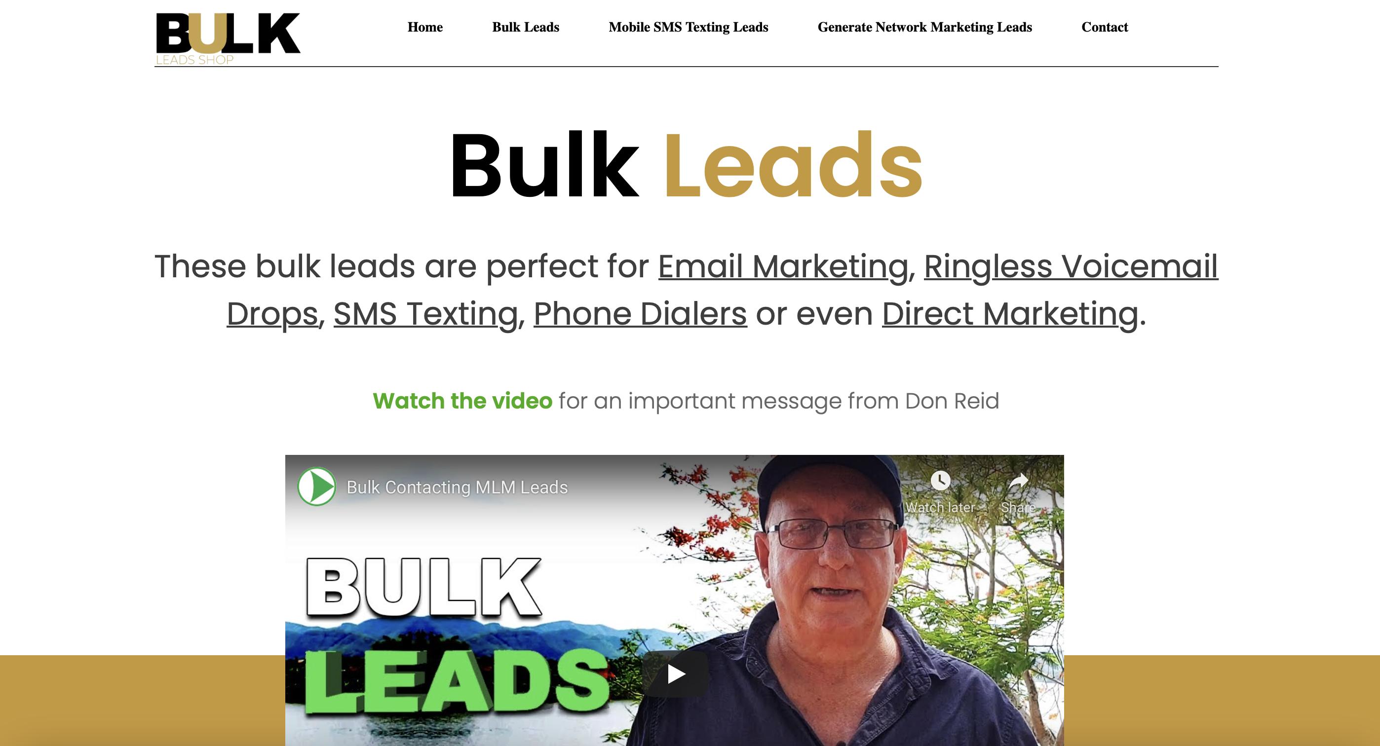Bulkleadsshop.com